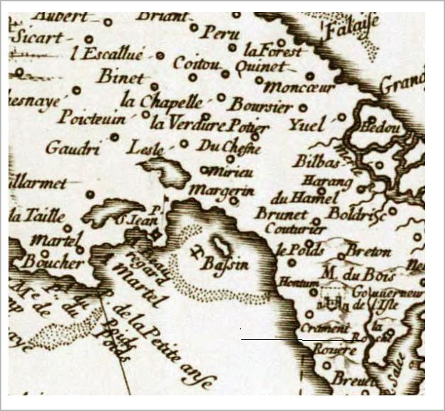 1671 French Map